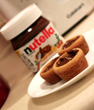 nutella cookie cups 3