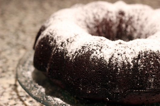 rum cake powdered