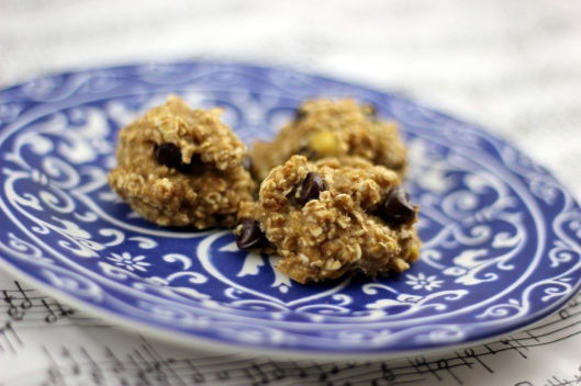 banana oatmeal cookie 2
