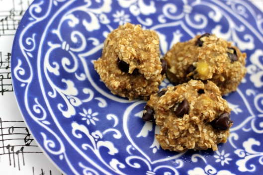 banana oatmeal cookie 4